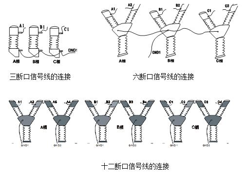 高压开关机械特性测试仪接线方式