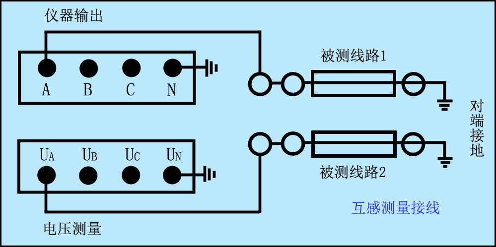 线路互感器接线图