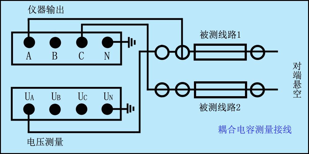 耦合電容接線圖